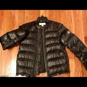 Michael Kors black puffer jacket